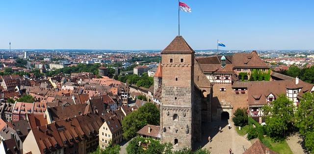 """Das Wahrzeichen """"Kaiserburg"""" von Nürnberg"""