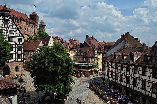 Der Albrecht Dürer Platz in Nürnberg